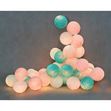 10 kul Baby Set Cotton Ball Lights