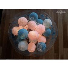 10 kul Frozen Cotton Ball Lights