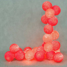 10 kul Hot Cotton Ball Lights