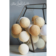 10 kul Sable Cotton Ball Lights