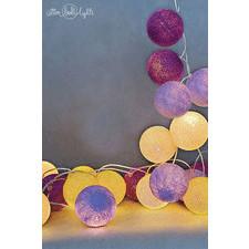 20 kul Crocuses Cotton Ball Lights