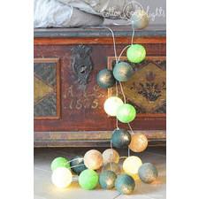 20 kul Deep Forest Cotton Ball Lights