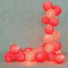 20 kul Hot Cotton Ball Lights