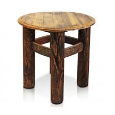 221 Old Wood Mały STÓŁ SOLE Stolik kawowynocny