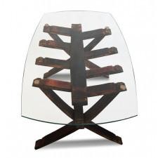 234 Old Wood dębowa ŁAWA SCALA Designerski Stolik