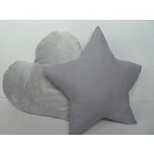 2x poduszki dekoracyjne, dla dzieci gwiazdka serce
