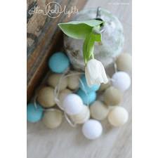 50 kul Playa Cotton Ball Lights