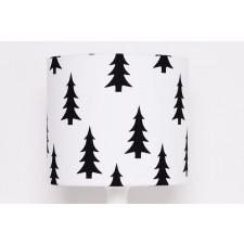 Abażur Black Trees 25x25x22cm od majunto
