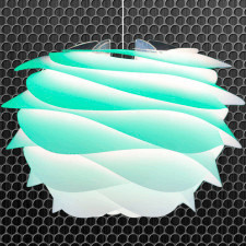 Abażur lampa Carmina mini Gradient Turquoise Vita Copenhagen