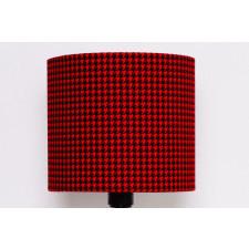 Abażur Pepitka RED 25x25x22cm od majunto