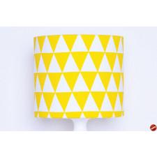 Abażur Triangles Yellow 25x25x22cm