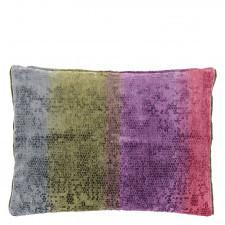 Aksamitna poduszka Designers Guild z efektem ombre 60x45 cm