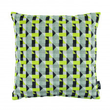 Aksamitna poduszka ROMO ze strukturalnym wzorem