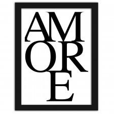 Amore, Plakaty w ramie