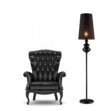 BAROCO lampa podłogowa czarna