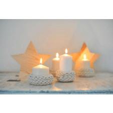 bawełniany świecznik