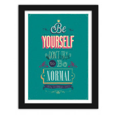 Be yourself 2, Plakaty w ramie