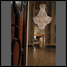 BEETHOVEN IMPERO 50 voltolina lampa wisząca