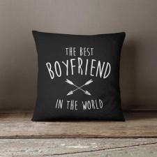 Best Boyfriend, Poduszka dekoracyjna z napisem