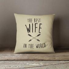 Best Wife, Poduszka dekoracyjna