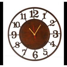 Bezgłośny Zegar - wyraźne, duże cyfry arabskie