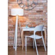 Biała Lampa WANDA | biały abażur