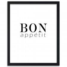 Bon appetit, Plakaty w ramie