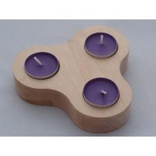 Brzozowe świeczniki - wariant 5