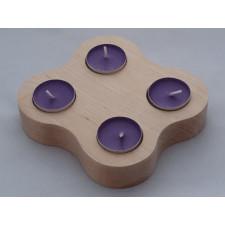 Brzozowe świeczniki - wariant 6