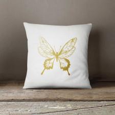 Butterfly, Poduszka dekoracyjna z napisem
