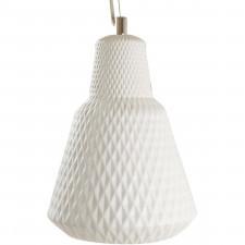 Ceramiczna lampa wisząca Cast Leitmotiv biała