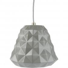 Ceramiczna lampa wisząca Cast mini Leitmotiv szara
