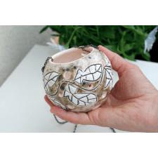 Ceramiczny lampion - Beza M