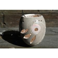 Ceramiczny lampion - Bursztyn