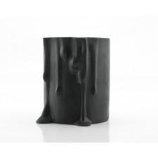 Ceramiczny świecznik - Czarny świecznik