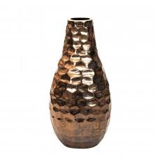 Ceramiczny wazon z wytłoczonym wzorem