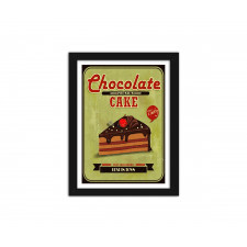 Chocolate cake, Plakaty w ramie