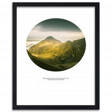 Climb mountains, Plakaty w ramie