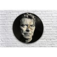 David Bowie Zegar z płyty winylowej