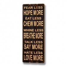 Dekoracja ścienna Fear Less