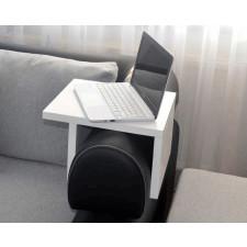 Designerski podłokietnik, stolik kawowy