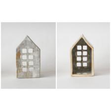 Domek - świecznik ceramiczny
