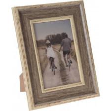Drewniana ramka na zdjęcia 10x15 cm