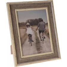 Drewniana ramka na zdjęcia 15x20 cm