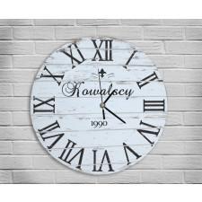Drewniany Duży Zegar na Zamówienie na Ślub 60cm