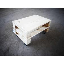 Drewniany stolik kawowy!