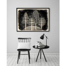 Drzewa 50x70cm