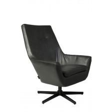 Dutchbone Fotel DON czarny 3100027