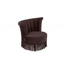 Dutchbone Fotel FLAIR ciemny brąz 3100055