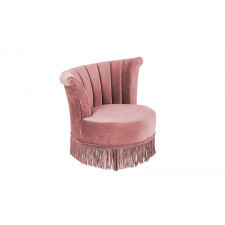 Dutchbone Fotel FLAIR różowy 3100050